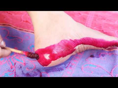 рдкрд╛рдБрд╡ рдХрд╛ рд╢реНрд░реГрдВрдЧрд╛рд░ рдХрд░рдиреЗ рдХреА рдкрд╛рд░рдореНрдкрд░рд┐рдХ рд╡рд┐рдзрд┐редред Indian Traditional Way To Decorate Feels During