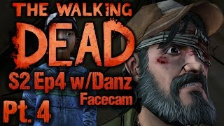 "CONVINCING KENNY - The Walking Dead S2 Ep4 ""Amid The Ruins"" (Facecam)"