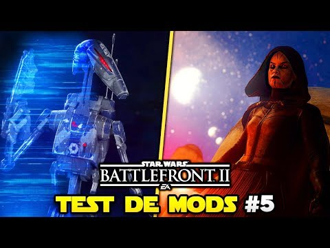 Test de Mods #5 (Ventress, Anakin & Droïde) | Star Wars Battlefront 2 thumbnail
