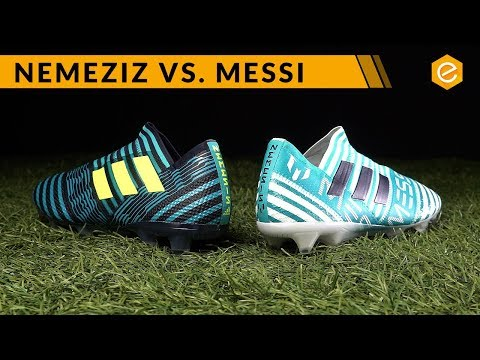 COMPARATIVA: Nemeziz vs Messi