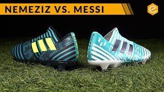 COMPARATIVA: Nemeziz vs Messi