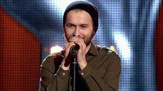 """The Voice of Poland IV - Wojciech Baranowski - """"Here Comes the Sun"""" - Przesłuchania w ciemno"""