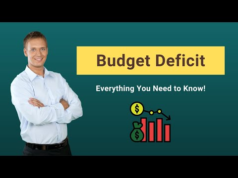 Budget Deficit | Definition | Calculation (Example)