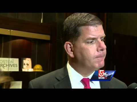 Boston Mayor Marty Walsh reacts to decision to drop Olympic bid