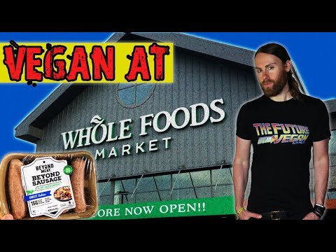 Vegan At Whole Foods Market