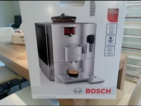 kaffeevollautomat bosch verobar 300 aromapro youtube. Black Bedroom Furniture Sets. Home Design Ideas