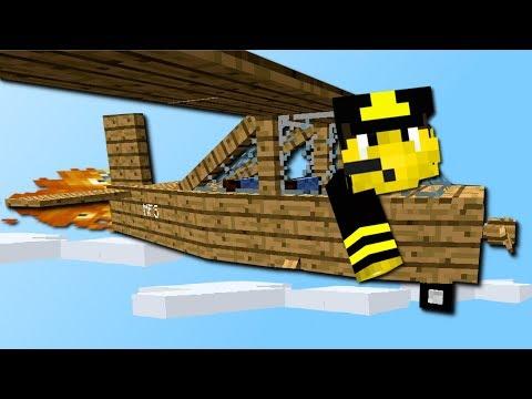 Minecraft Flugzeug Simulator Mod! (Realistische Flugzeuge) [Deutsch]