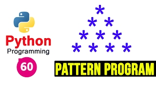 Python Pattern Programs - Printing Stars '*' in Pyramid Shape