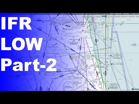 Ground School: IFR Low Enroute Charts Explained | Advanced Knowledge Part 2