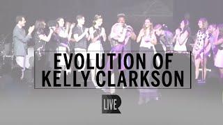Evolution of Kelly Clarkson - RANGE [Live @ Radio City]
