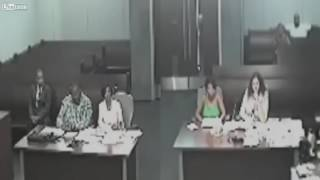 WOMAN FREAKS OUT AFTER FATHER GETS JOINT CUSTODY!