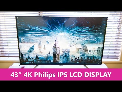 "Philips 43"" 4K DISPLAY Model BDM4350UC Unboxing & overview"