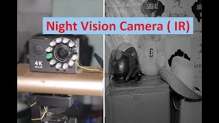 Hướng dẫn chế camera hồng ngoại 📷  How To Make A Night Vision Camera