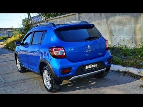 "Cпойлера №1 ""KART RS NEW"" для Renault Sandero Stepway и Renault Sandero NEW"