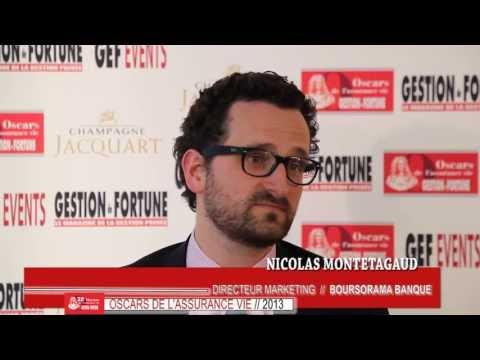 Nicolas Montetagaud aux 28e Oscars de l'Assurance Vie