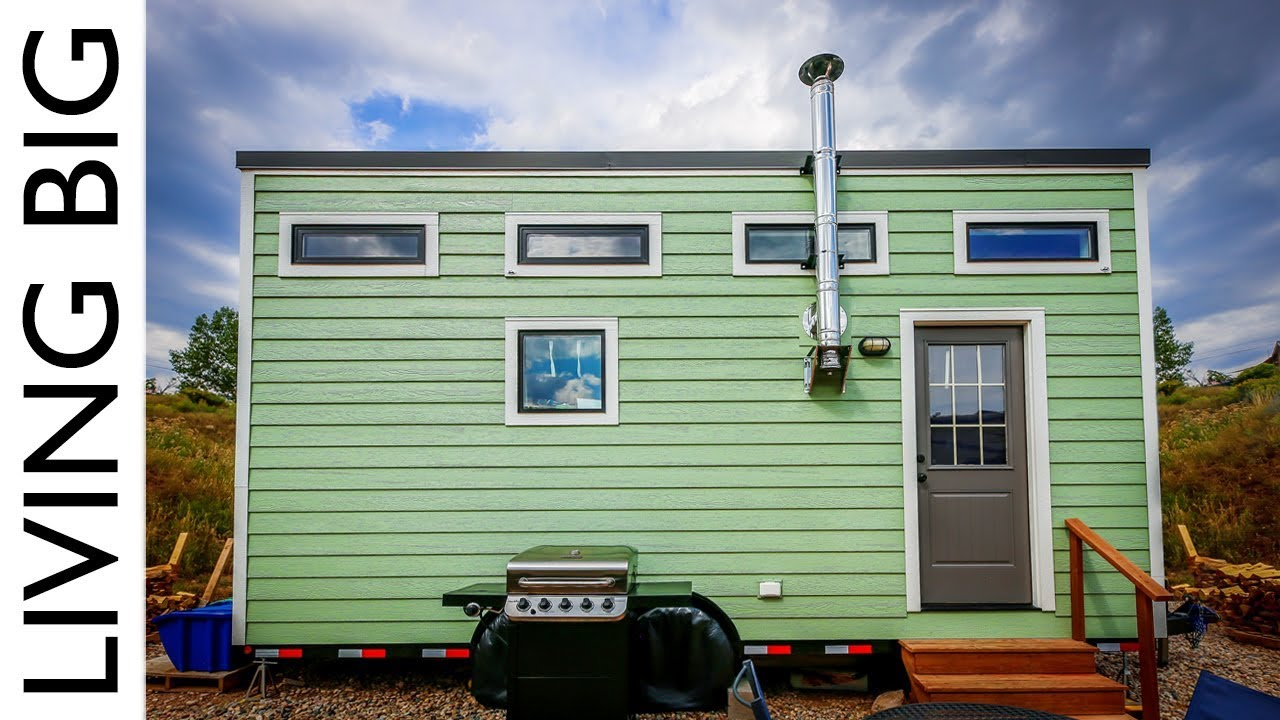 Couple S Debt Free Life In A Stunning 18 000 Tiny House
