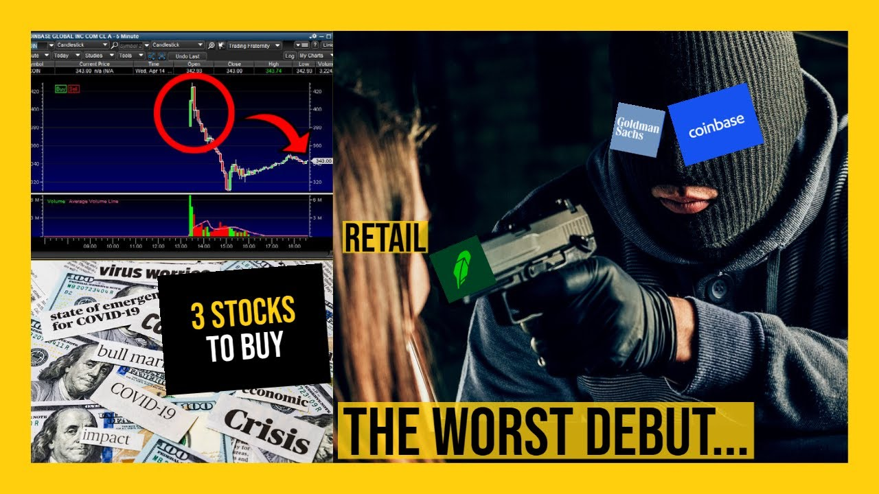 THE STOCK MARKET IS GOING TO BOUNCE TOMORROW!! - My Watchlist - 3 STOCKS TO BUY NOW!