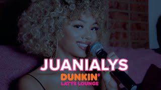 Juanialys Performs At The Dunkin Latte Lounge!