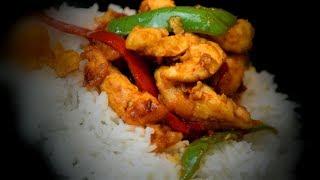 Chinese Chilli Chicken Stir-Fry | Chinese Style Recipe