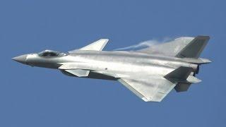 【4K】J-20 歼-20 Chinese Stealth Fighter Demo Flight Air Show China 2016 第十一届 中国国际航空航天博览会