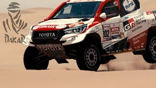 Toyota win the 2019 Dakar Rally