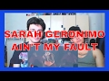 Sarah Geronimo sings Ain't My Fault by Zara Larsson REACTION video & mp3