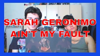 Sarah Geronimo sings Ain't My Fault by Zara Larsson REACTION