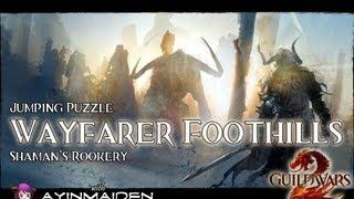 ★ Guild Wars 2 ★ - Jumping Puzzle - Wayfarer Foothills (Shaman