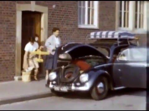 Volkswagen Käfer / Beetle - vintage private films from Germany