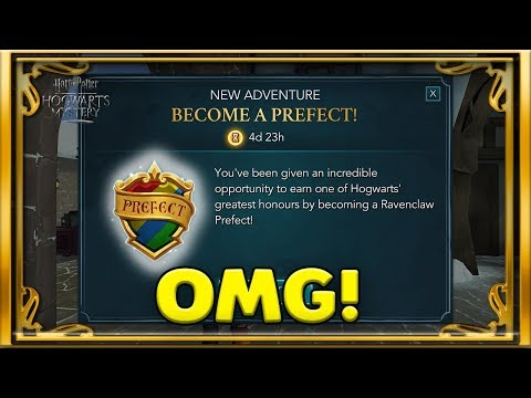 BECOME A PREFECT!!! - NEW UPDATE -HARRY POTTER: HOGWARTS MYSTERY