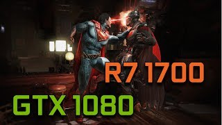 Injustice 2 Open Beta   GTX 1080 G1 Gaming + Ryzen 7 1700   1080p Max Settings  