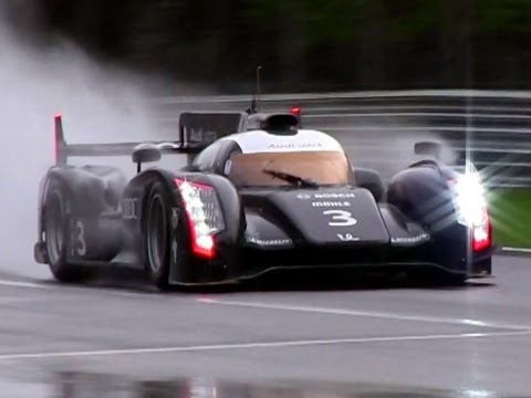 2012 Audi R18 Ultra LMP1 SOUND - Test at Monza Circuit