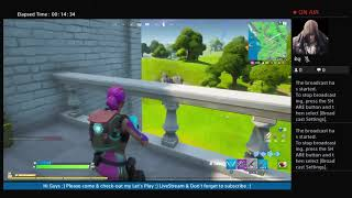 {FORTNITE}-[]-(My Let's Play ThaFreestyleRaph PS4 Livestream)
