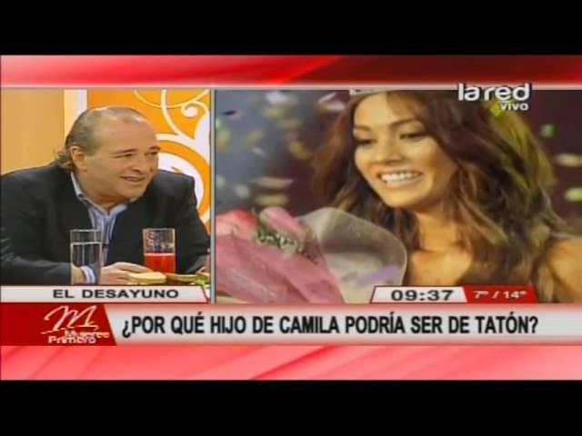 Tatón explica todo sobre su término con Camila Recabarren y se refiere a la paternindad de su hjo