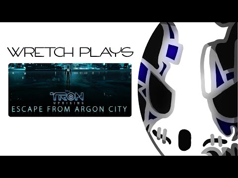 Let's Play TRON: Uprising - Escape From Argon City | Finding The Angle [Wretch Plays]