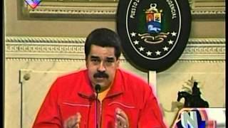 Maduro propone plan por la paz