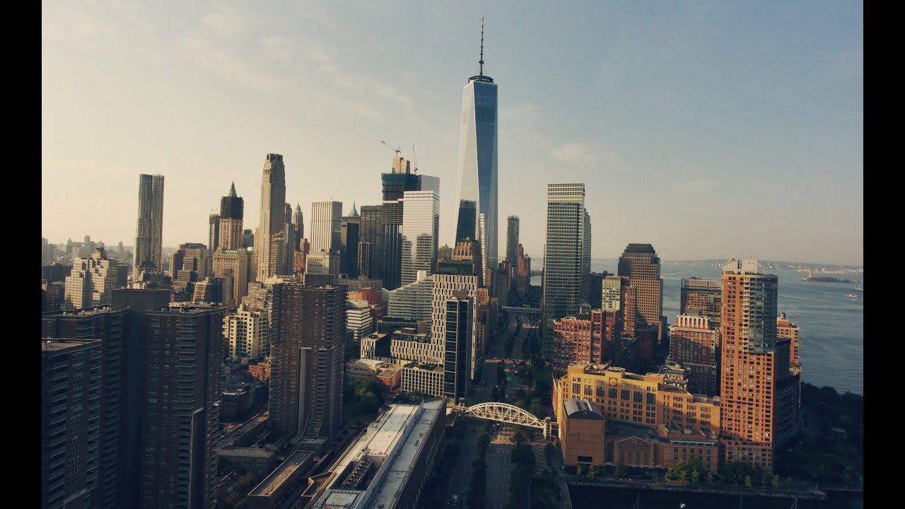 BEST DRONE SHOTS OF NEW YORK CITY