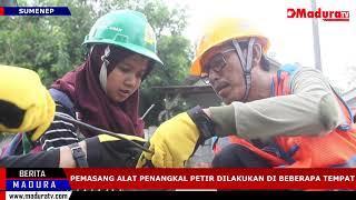 Download Video Jaringan Listrik Sering Terkena PLN Pasang Alat Penangkal Petir Madura TV 09012019 MP3 3GP MP4