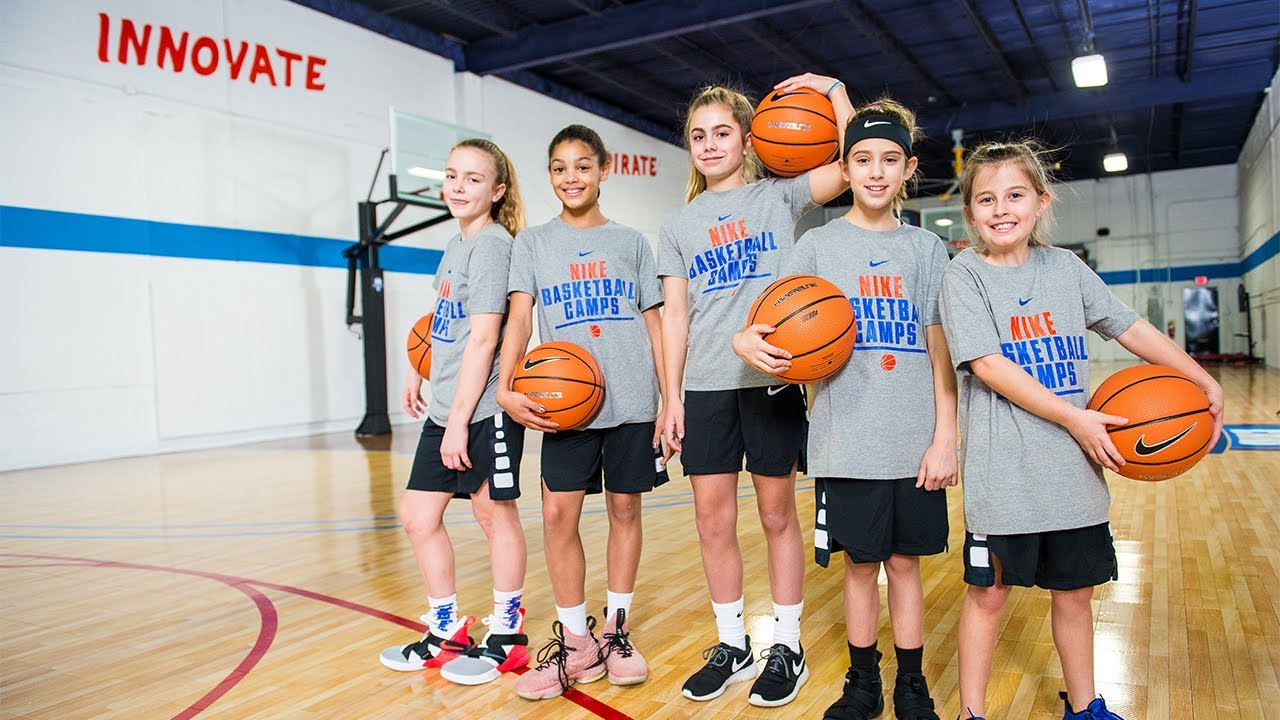monigote de nieve Agente Mentor  Nike Girls Basketball Camps - YouTube