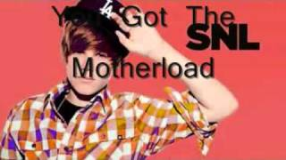 Justin Bieber   Lady With the big brown eyes You got the Motherload Baby Lady + Lyrics   YouTube