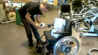 ALBER e-fix. La silla de ruedas manual convertida facilmente en silla electronica.