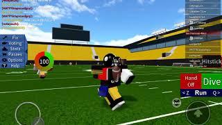 Being qb! Legendary football (ROBLOX)