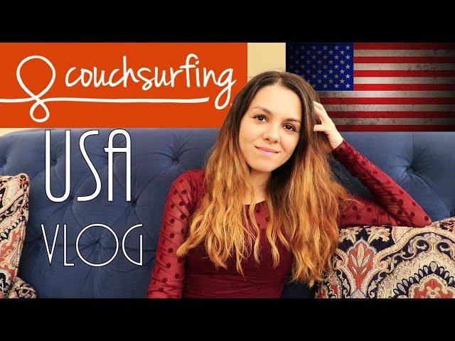 How to stay in USA for free - couchsurfing | Ako bývať v Amerike zadarmo 4K 2017