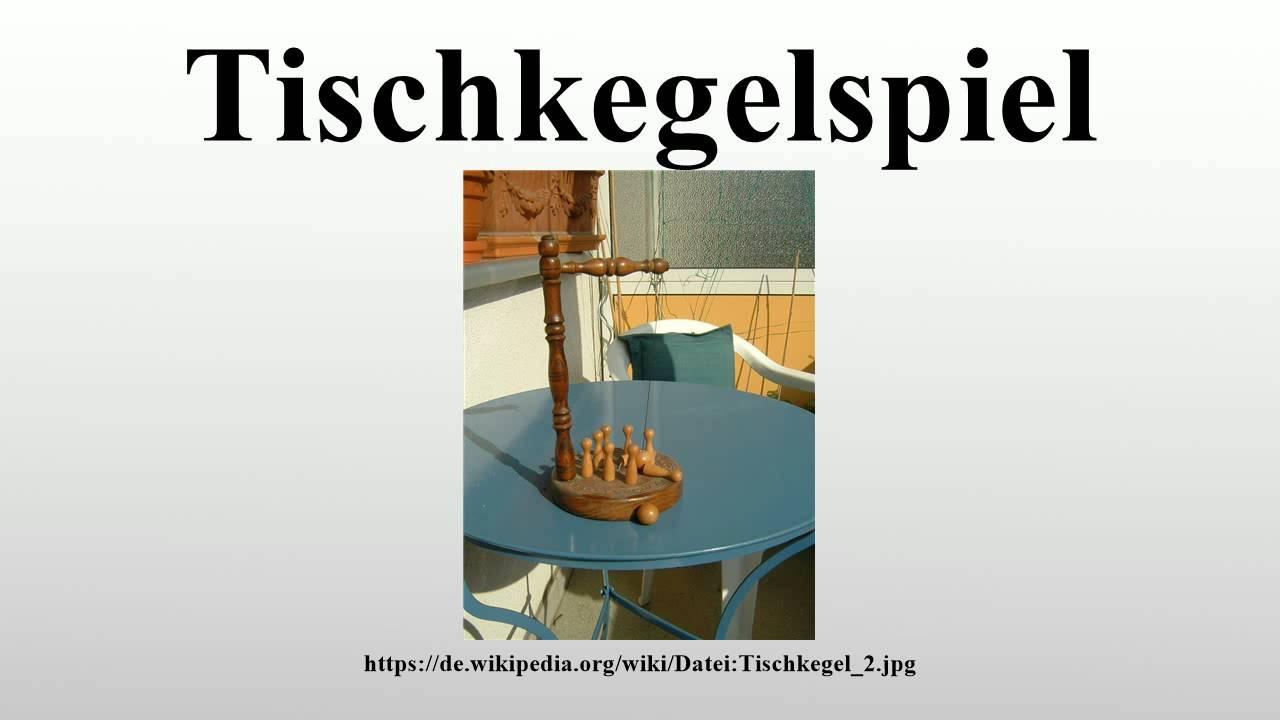 Tischkegelspiel