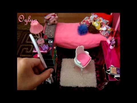 Как построить дом на полу для Барби