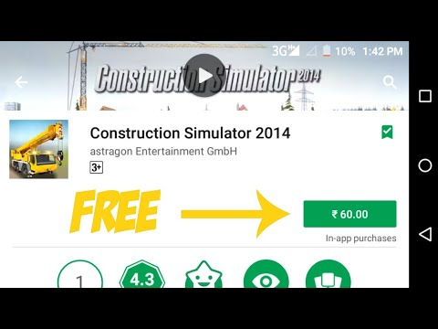 Construction Simulator 2014 For Android|| Free Download||(2018)