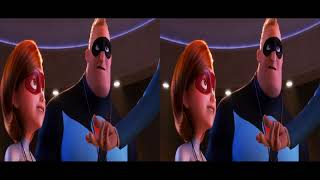 The Incredibles 2 3d in 3d Russian Trailer