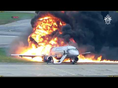crash-and-evacuation-video-of-aeroflot-sukhoi-superjet.-moscow-sheremetyevo-airport