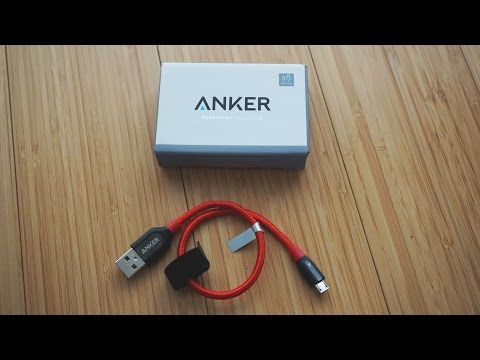 Anker Powerline+ MicroUSB Cable 1ft/30cm Review