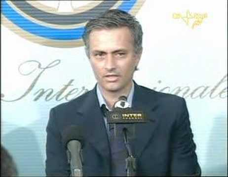 (1/4) Presentazione Josè Mourinho Inter